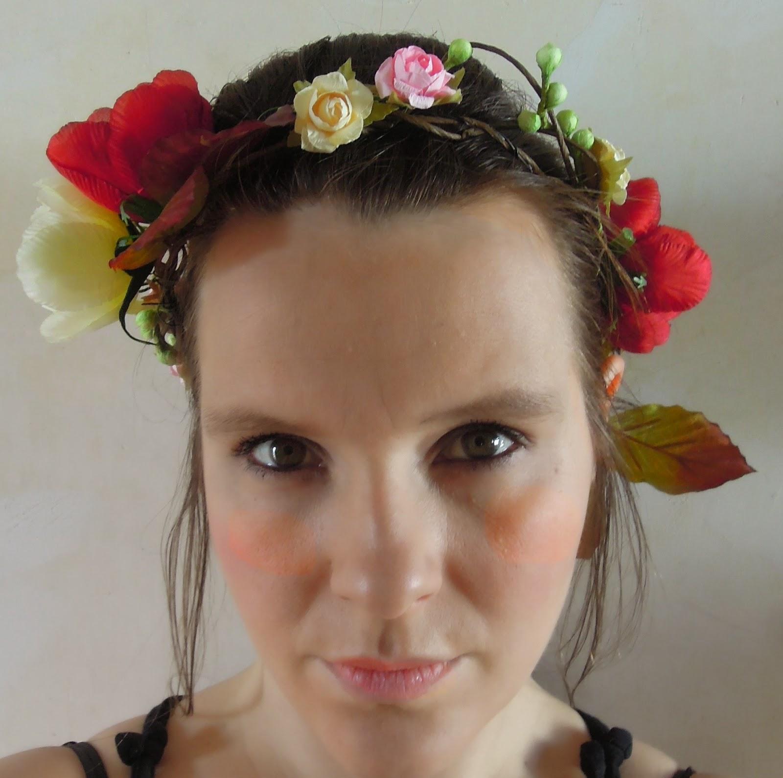 Rap nzel is a mermaid couronne de fleurs diy tuto - Tuto couronne de fleur ...
