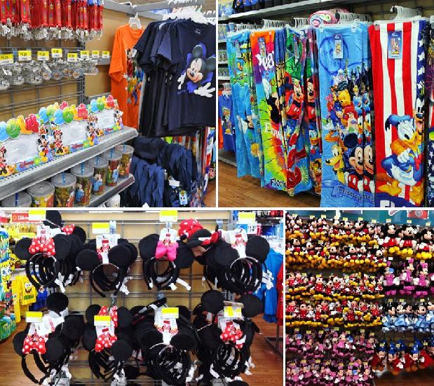 Brinquedos no Walmart em Orlando