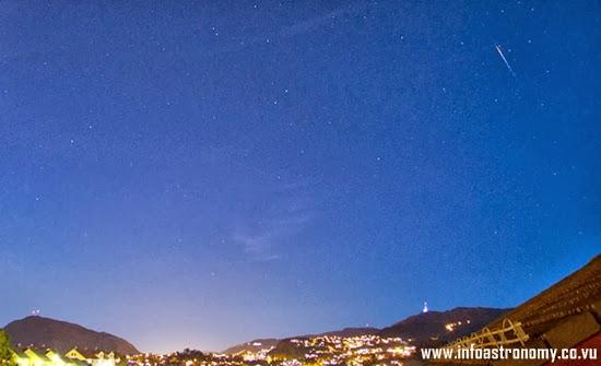 Foto-foto Hujan Meteor Draconid 7 Oktober 2013