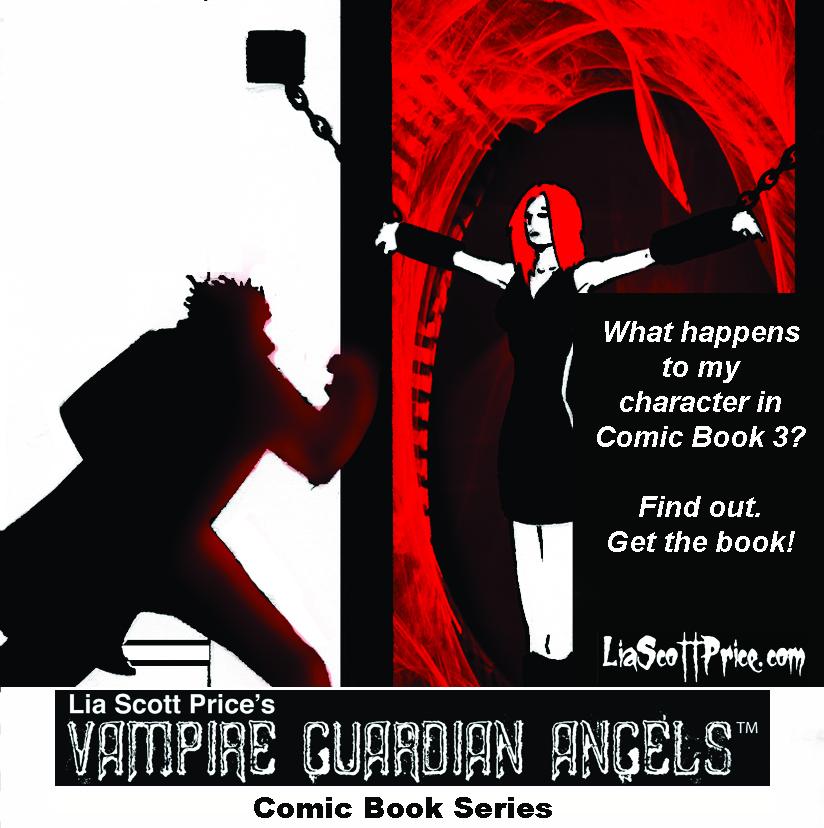 Free Comic Book Day 2013: Lia Scott Price's Vampire Guardian Angels Comic Book