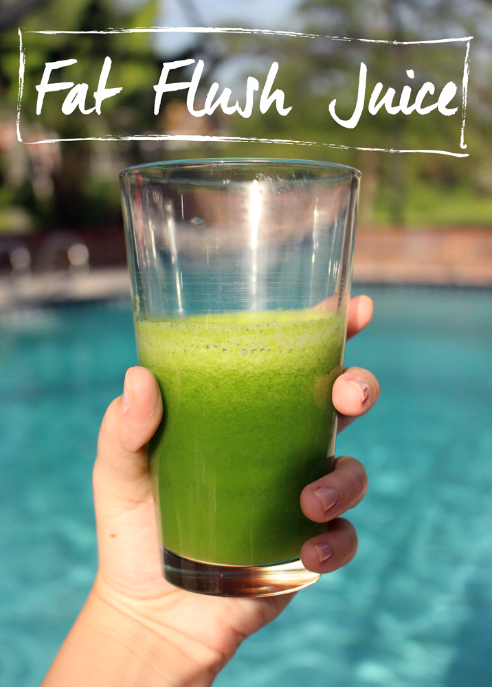 fat flush juice