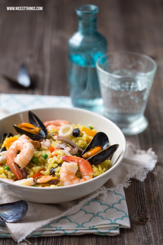 Seafood Paella Meeresfrüchte Food Photography