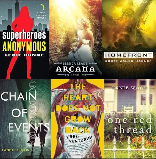2014 Debut Author Challenge Cover Wars - November 2014 Winner
