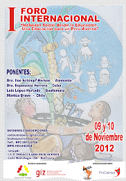 "FORO INTERNACIONAL ""INCLUSIN SOCIAL DESDE LA EDUCACIN"""