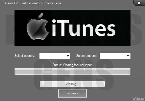 iTunes Code Generator - Free iTunes