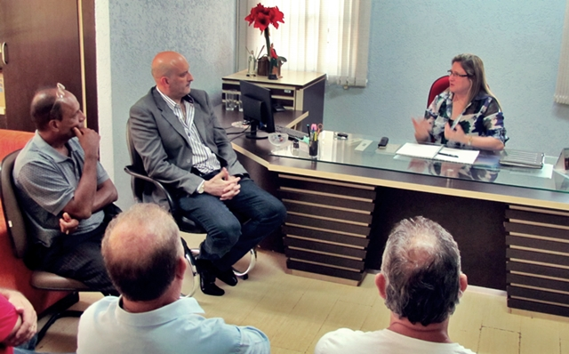 Roncador: Prefeita recebe visita do Delegado Nagib Nassif