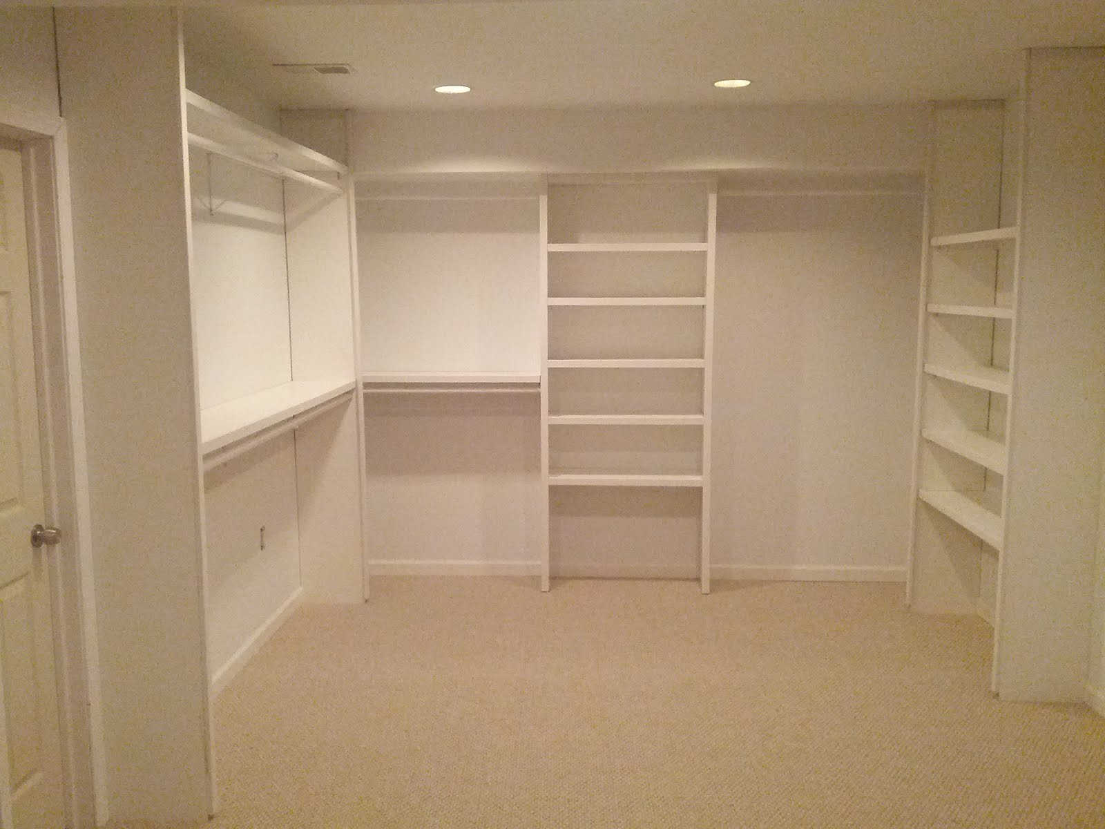 Top value construction llc custom closet build for Custom closet images