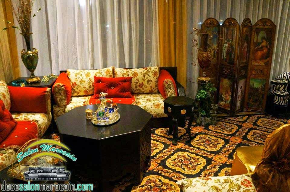 Salon marocain occidental fascinant