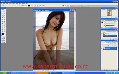 Cara Memotong Gambar dengan Photoshop