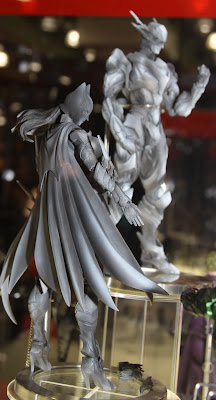 Square Enix Play Arts 2013 Toy Fair Display - DC Universe Batgirl figure