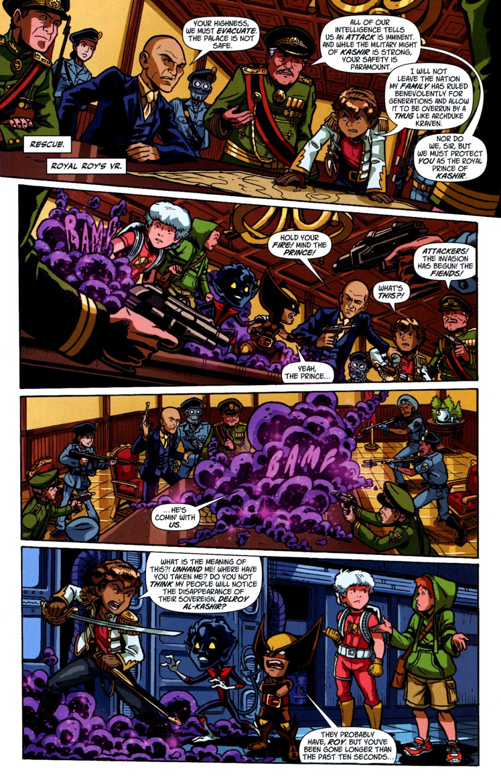 Read online X-Babies comic -  Issue #3 - 18