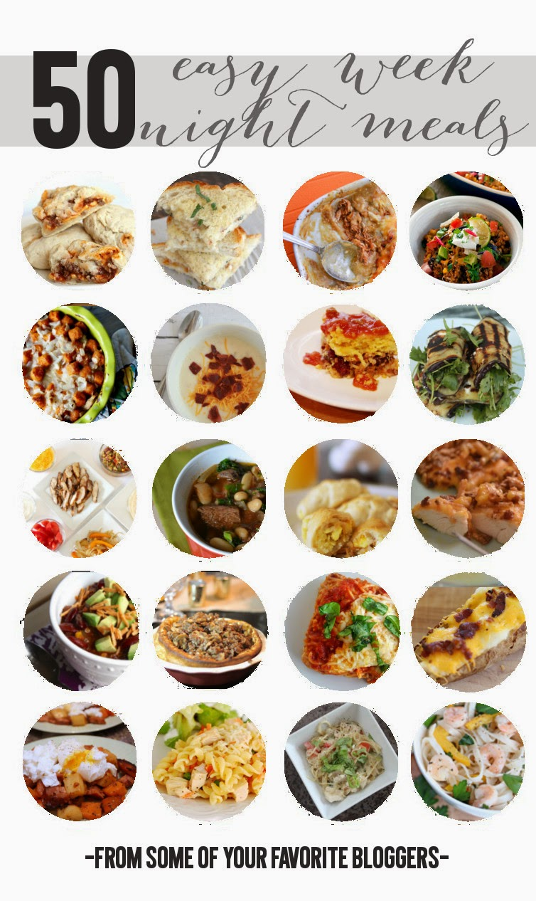 Carissa Miss: 50 Easy Week Night Meals