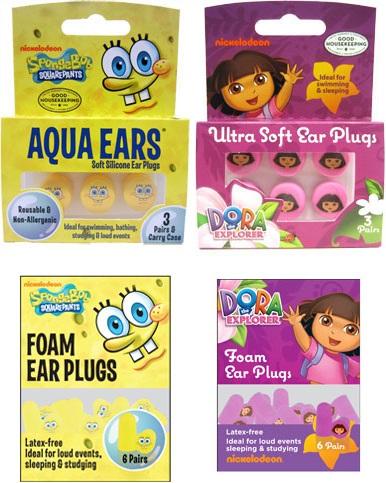 "NickALive!: AquaEars Unveils ""SpongeBob SquarePants"" And ..."