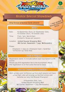 Bronze Champions Showdown Encore!