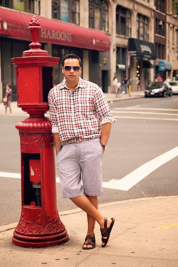 Men's Fashion, Casual Wear, Men's Travel Wear, New York City, Tanvii.com
