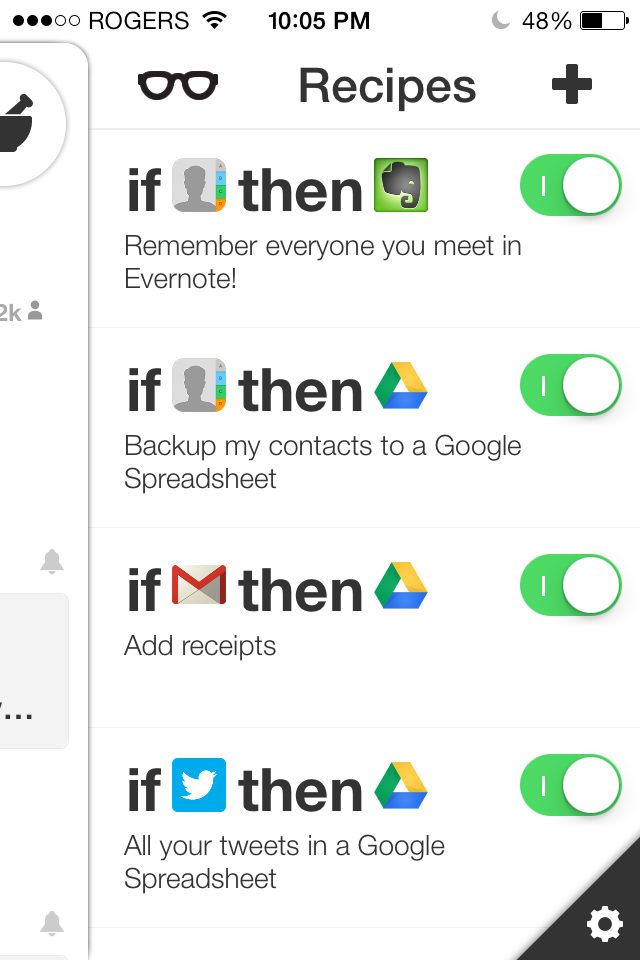 how to add create new todo with an email ifttt