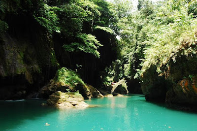 Sungai Cijulang Green Canyon