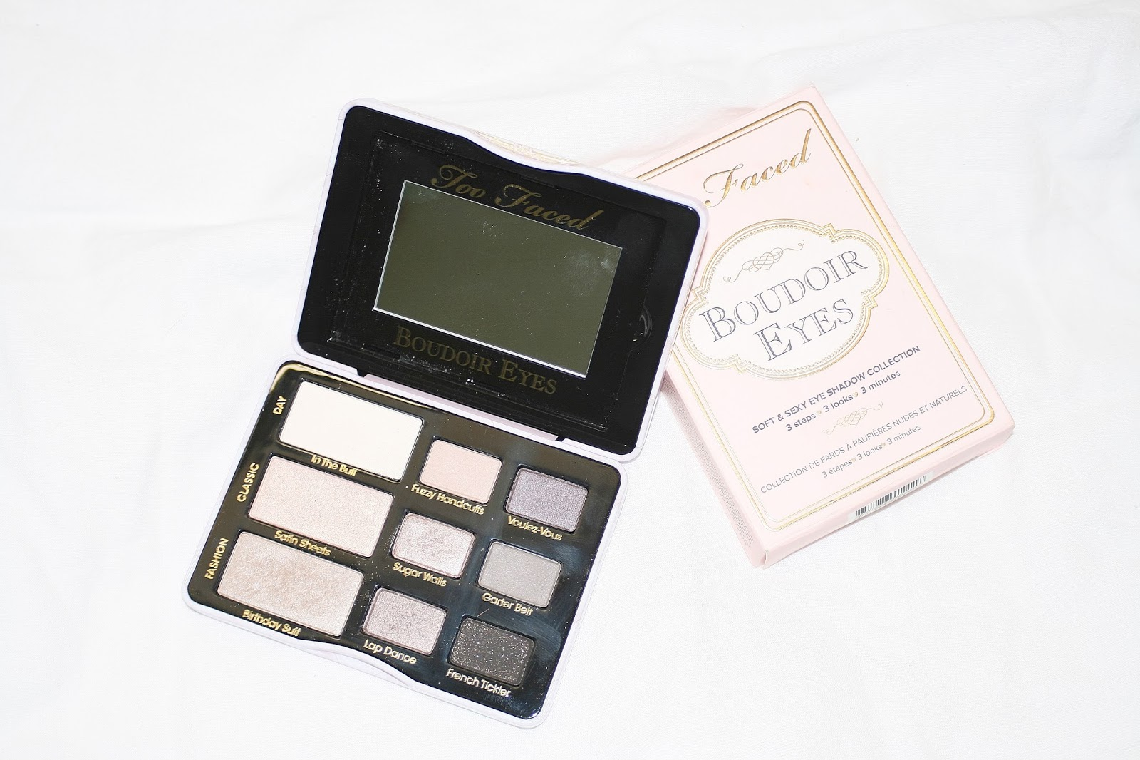 Katherine Penney Chic makeup beauty palette Too Faced natural luxury nude eyeshadow pretty