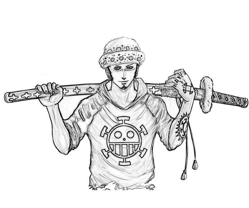 printable-one-piece-trafalgar-law-smile_coloring-pages
