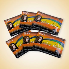 BSY Color Shine Dark Brown - Paket Hemat 6 Sachet