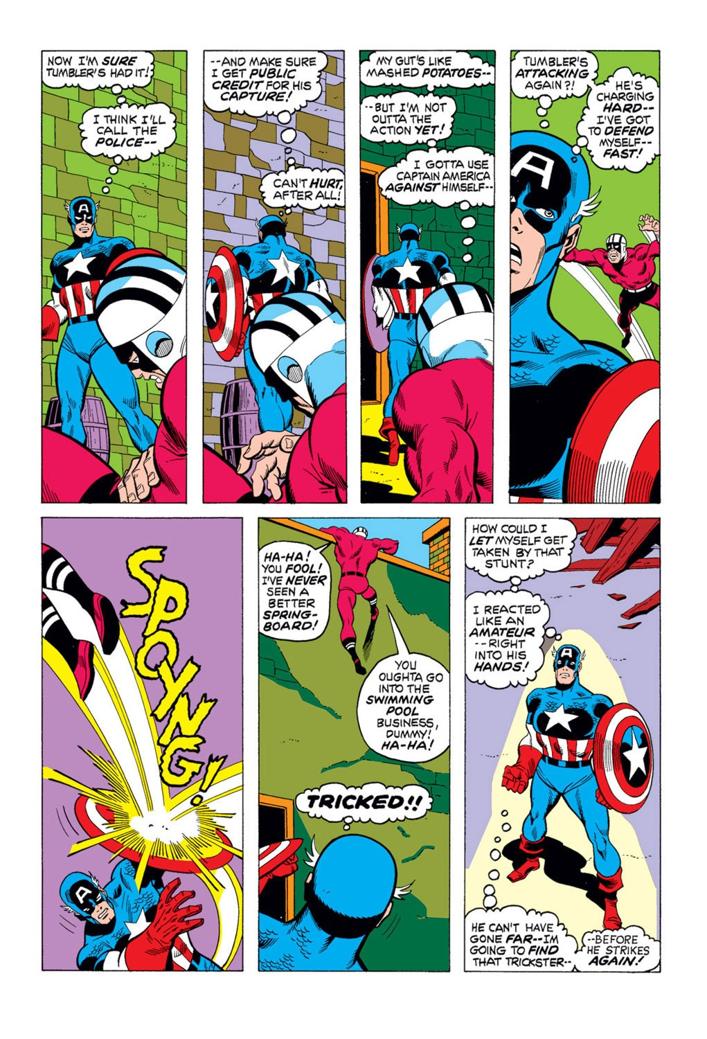 Captain America (1968) Issue #169 #83 - English 15