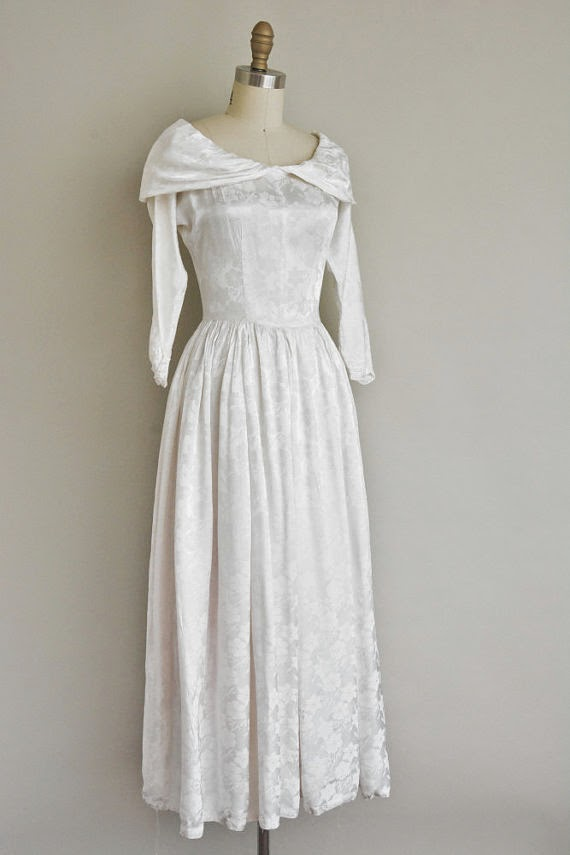 Etsy 1940s Wedding Dress - Affordable 1940s Wedding Dresses
