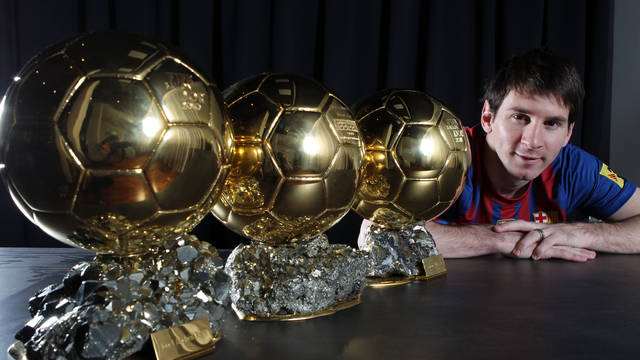 Ballon D'Or dan Lionel Messi