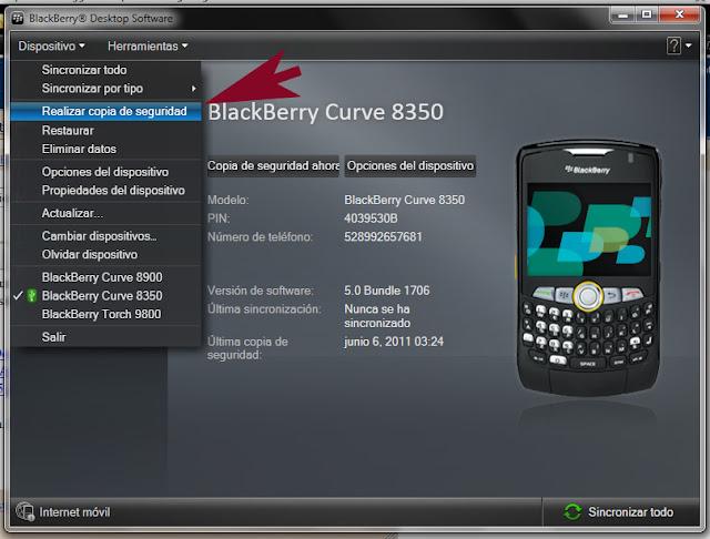 Wipe Con BBSAK y Actualizacion De Blackberry