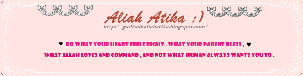 Aliah Atika