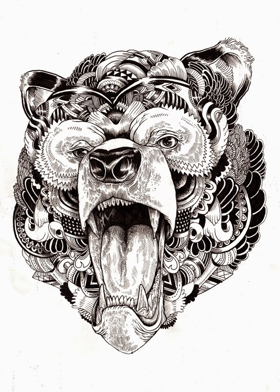 05-Iain-Macarthur-Precision-in-Surreal-Wildlife-Animals-Drawings-www-designstack-co