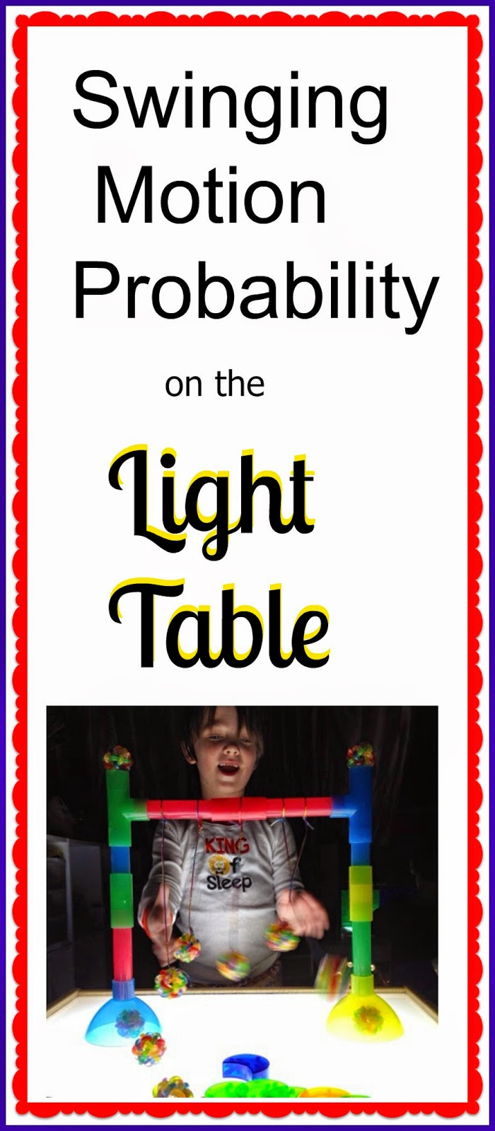 swinging motion probability on the light table