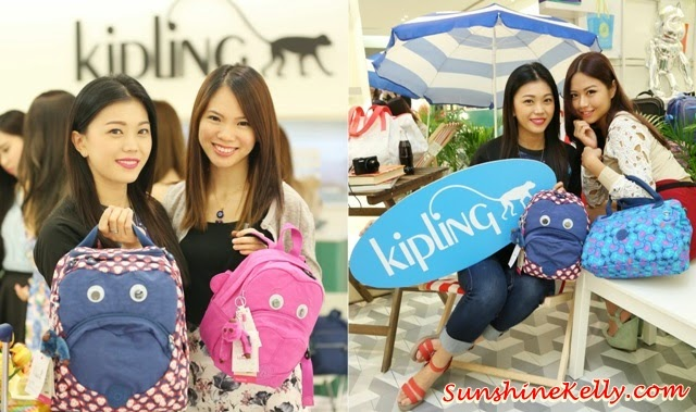 Kipling Summer 2014 Collection, kipling bags, kipling malaysia, kipling summer wave, kipling natalie joos, travel luggage, snapshop summer, sabin shoulder bag, jamie aqua pouch, kipling aqualicious, kipling summer tea party, kipling