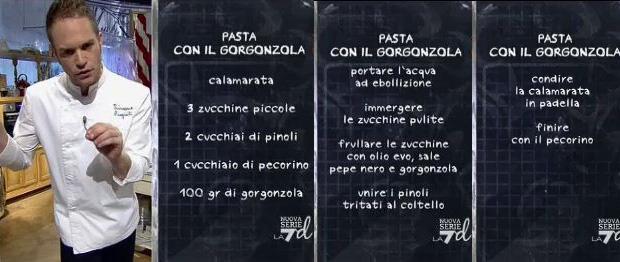 pasta con zucchine e gorgonzola
