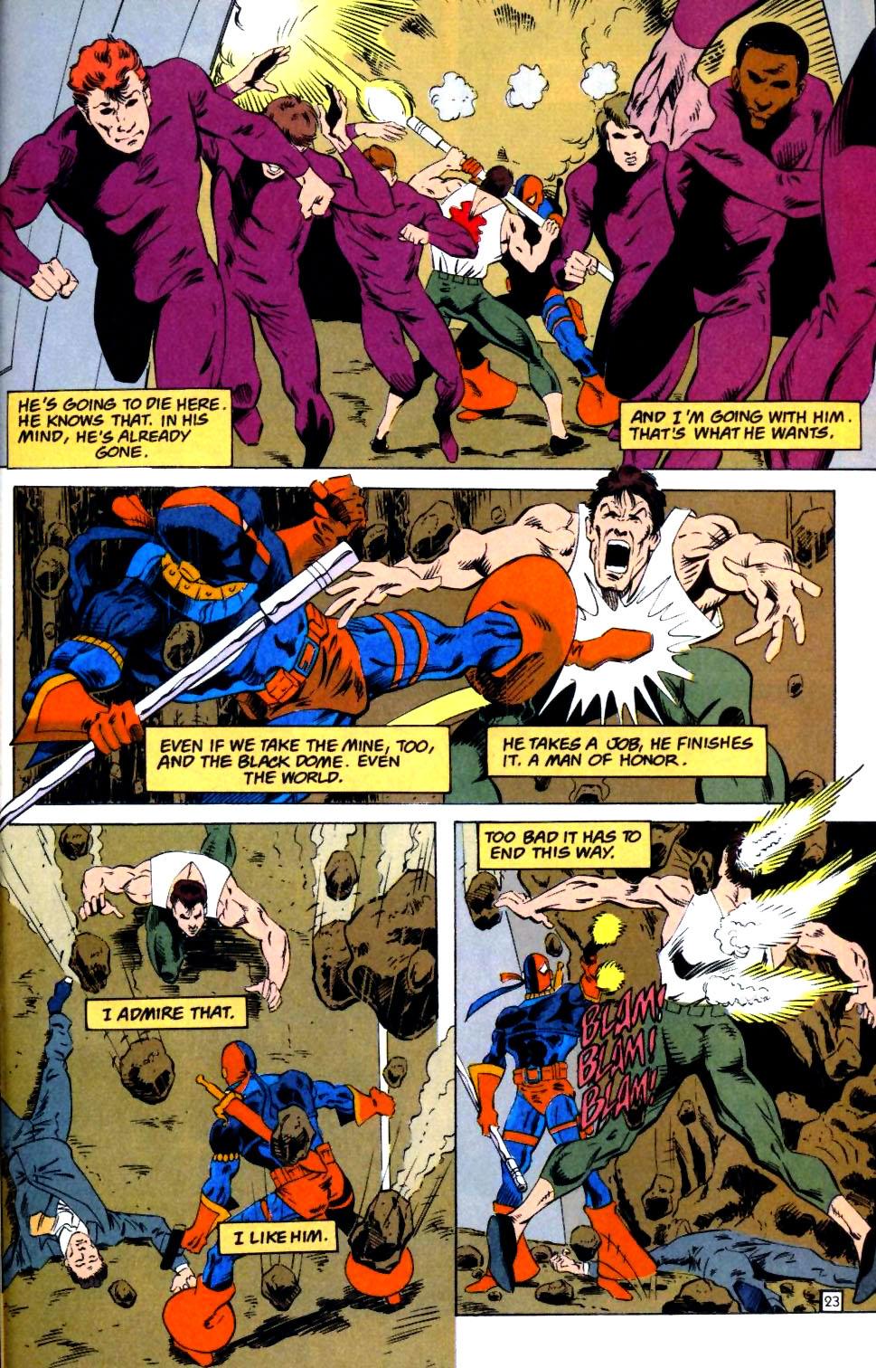 Deathstroke (1991) Issue #25 #30 - English 24