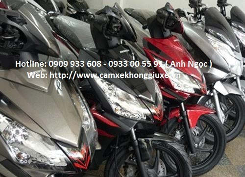 Dịch vụ cầm cavet xe máy tại Song Hùng