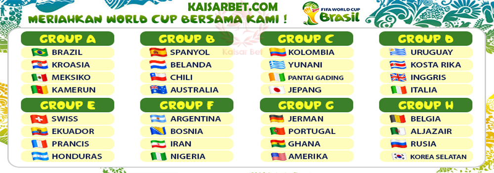 KAISARBET - Group World Cup 2014