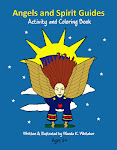Angels and Spirit Guides Activity and Coloring Book