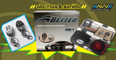 Sistema de Alarma Inteligente Better AW 1
