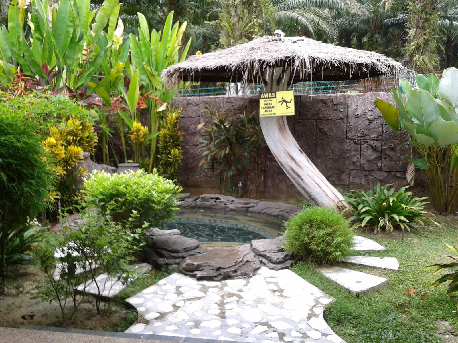 Sungai klah hot springs - A Private Spa In Our Villa