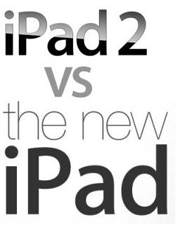 Apple iPad 2 vs The New iPad 3