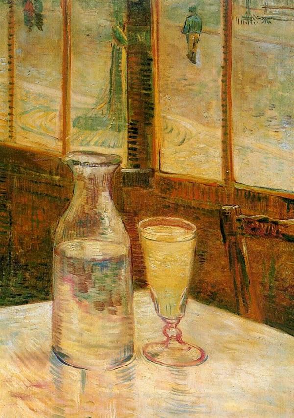 V. Van Gogh, Stillleben mit Absinth (1887)