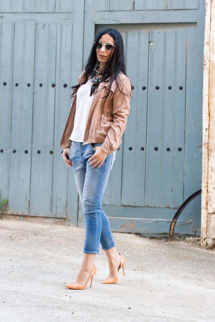 Outfit de la Blogger de moda valenciana estilo femenino casual y sofisticado