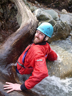 Gorge Walking Sessions in The Lake District with Kendal Mountaineering Services.