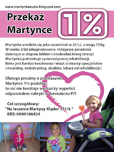 1% podatku dla Martynki