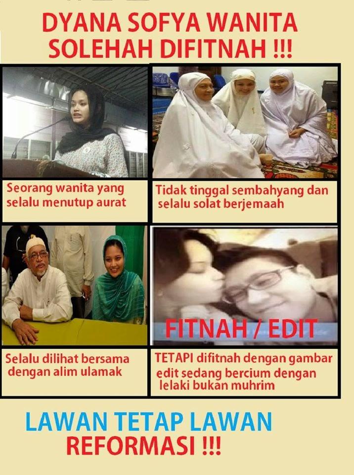 Dyana Sofya Wanita Solehah Difitnah