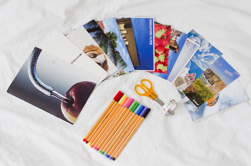 postcrossing, pocztówki, inspiracje blog