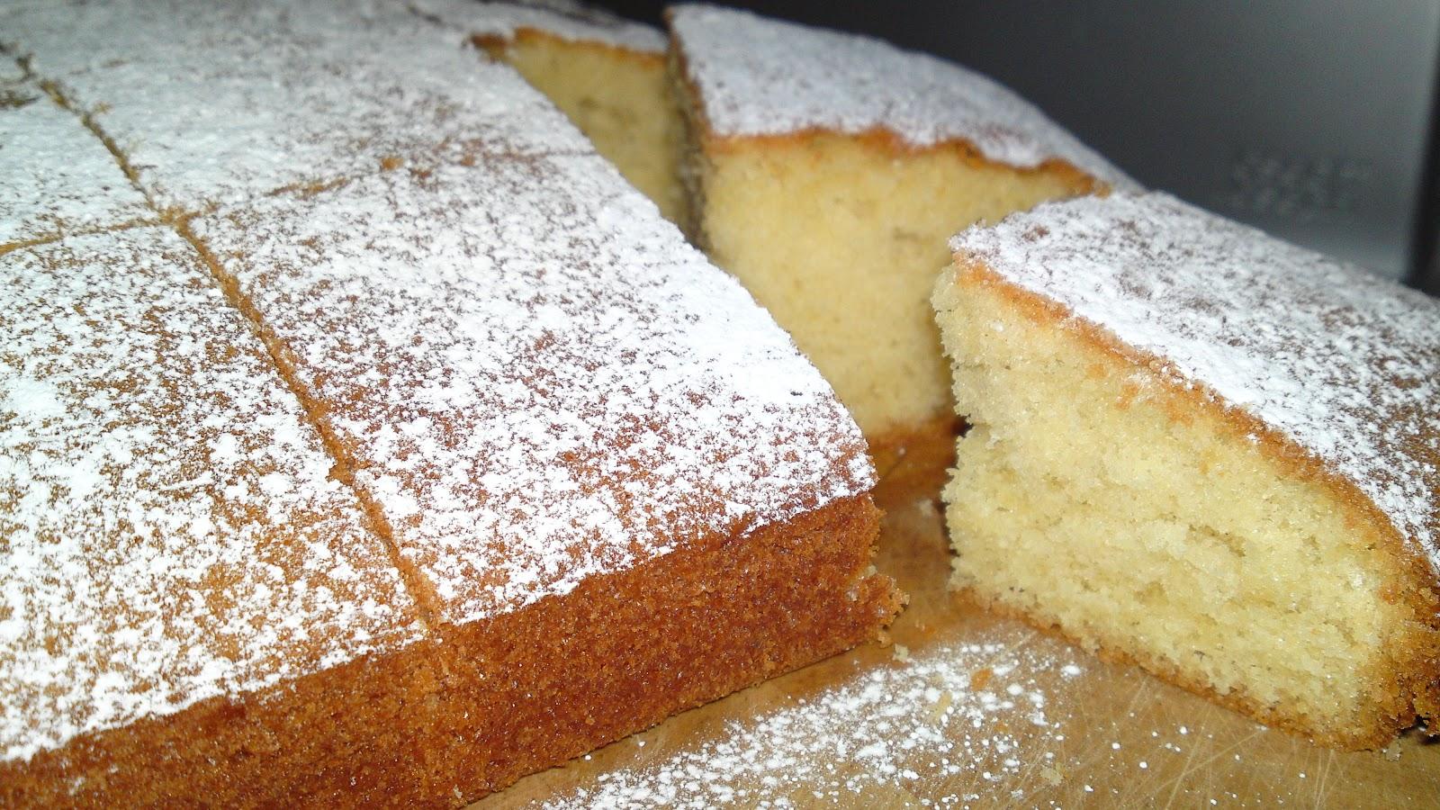 All In One Sponge Cake Tray Bake