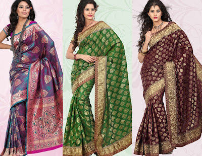 verity of silk saree collections