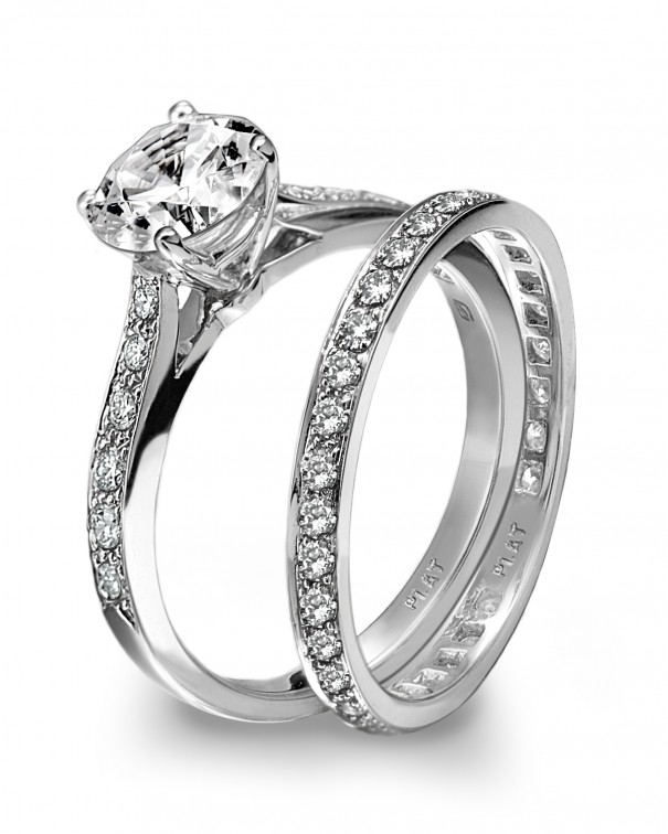 engagement ring with platinum diamond a wedding inspiration. Black Bedroom Furniture Sets. Home Design Ideas