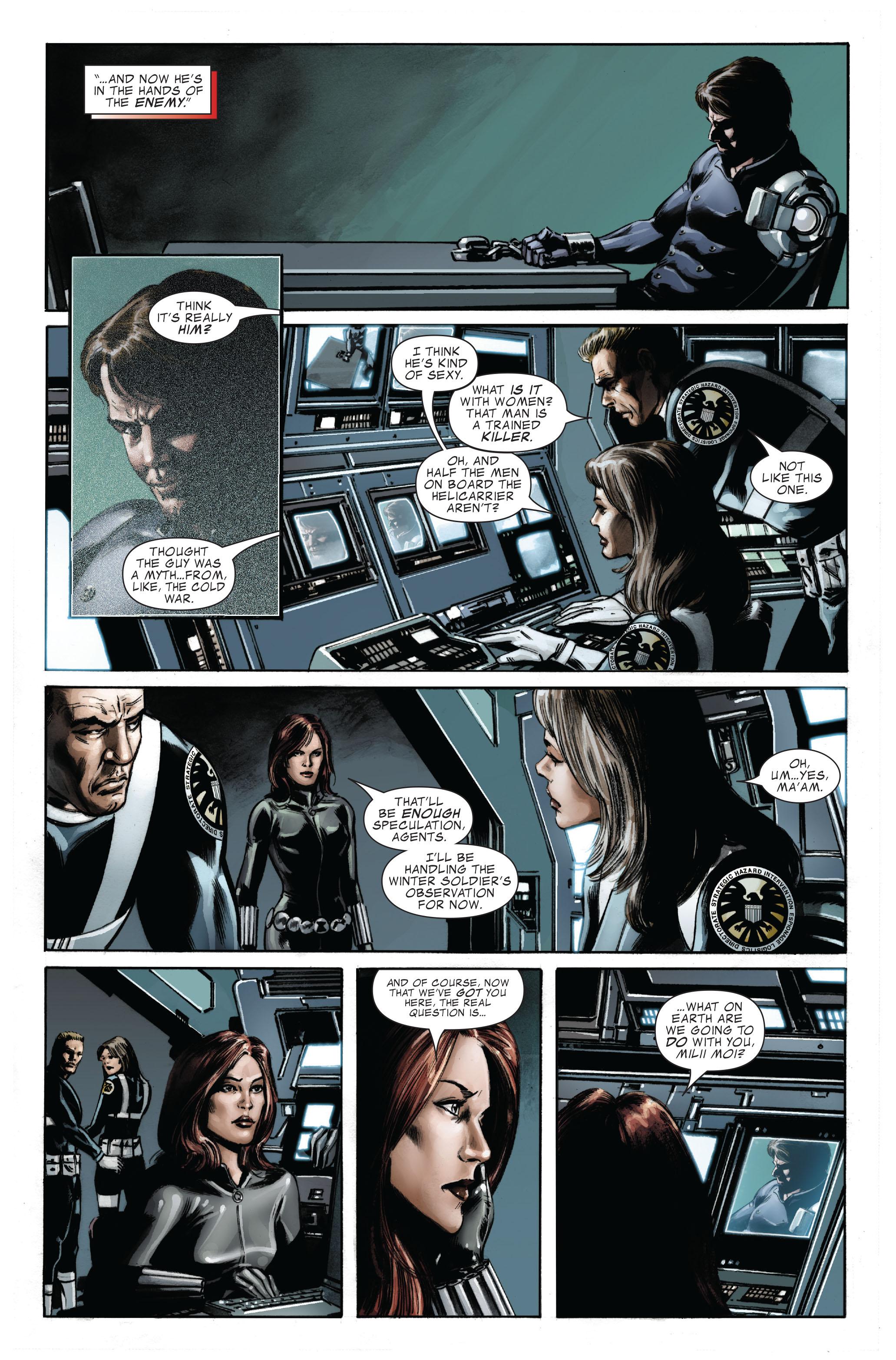Captain America (2005) Issue #33 #33 - English 4